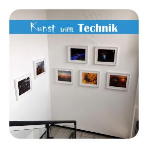 Kunst trifft Technik – Fotografien von Dieter E. Bauer