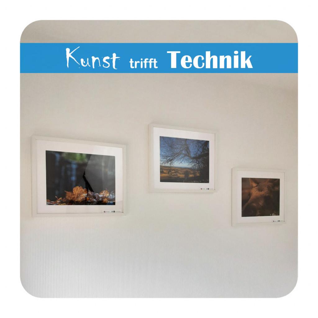 Kunst trifft Technik - Fotografien von Dieter E. Bauer